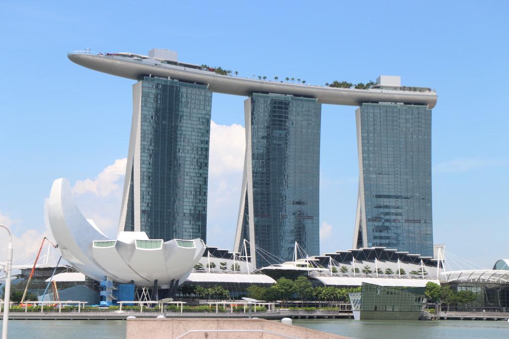 Marina Bay Sands Singapore - dominanta Lvího města