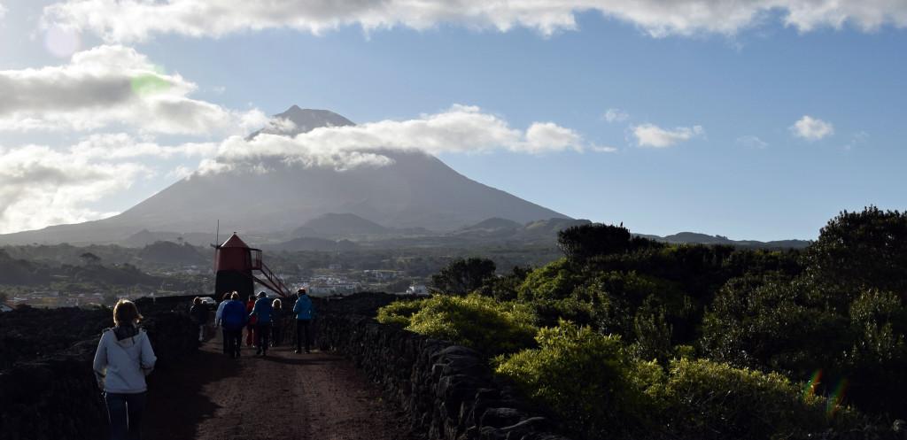 Azory - Pico s dominantou sopky