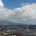 Azory - Sao Miguel - přístav v Ponta Delgadě