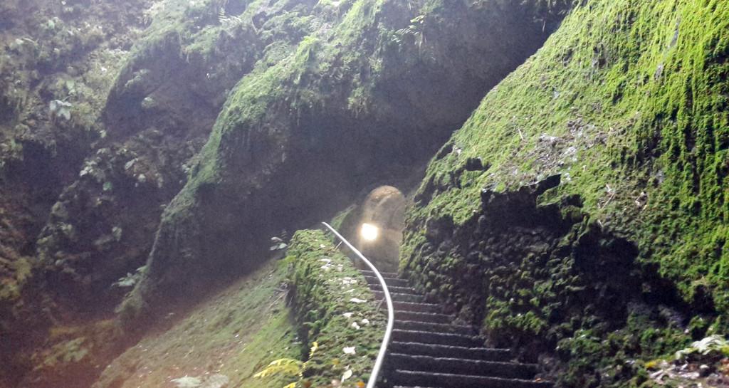 Azory - Terceira - jeskyně Carvao