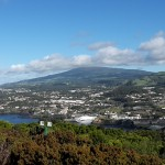 Azory - Terceira - pohled na město Angra do Heroismo