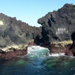 Azory - Terceira - přírodní jezírka Ponta dos Biscoitos