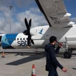 Azory - místní dopravce mezi ostrovy Sata International