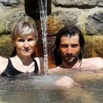 Azory - Sao Miguel - Furnas - příjemná sirná koupel