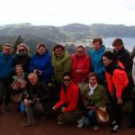 Azory - Sao Miguel - vyhlídka Vista Rei a naše skupina