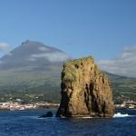 Azory - Faial - pohled na horu Pico