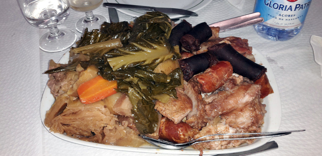 Azory - Sao Miguel - cozido na talíři