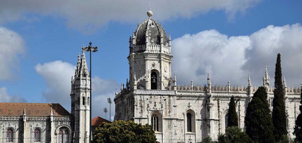 Lisabon - kláštěr Sv. Jeronýma - vrchol manuelské gotiky