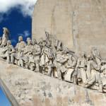 Lisabon - památník objevitelů včele s Vasco de Gama