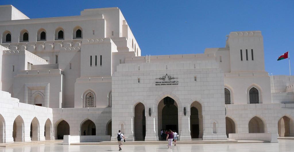 Omán - Muscat - Státní opera