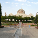 Omán - Muscat - Velká Mešita