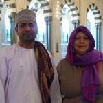 Omán - Muscat - Velká Mešita - Iman+Marcela
