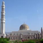 Omán - Muscat - Velká Mešita - panorama
