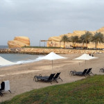 Omán - Muscat - hotel Shangri-La´s Al Bandar - pláž