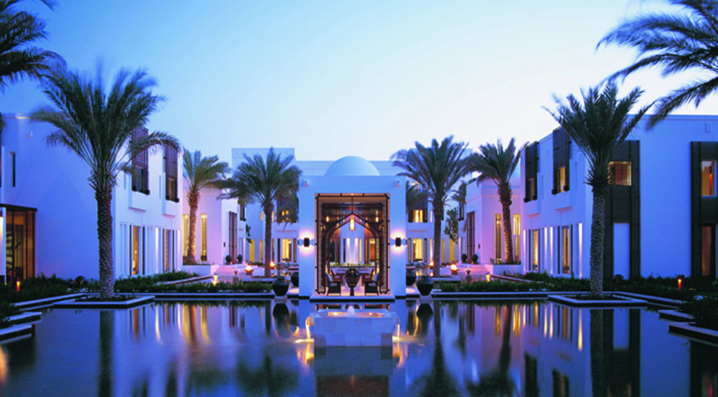 Omán - Muscat - hotel The Chedi Muscat