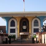 Omán - Muscat - palác sultána