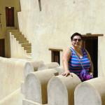 Omán - Nizwa - Marcela v pevnosti