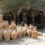 Omán - Nizwa - obchod s keramikou