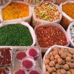 Omán - Nizwa - obchody s kořením