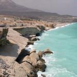 Omán - Tiwa - pobřeží