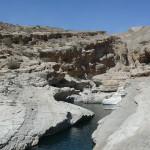 Omán - Wadi Bani Khalid - soutěsky