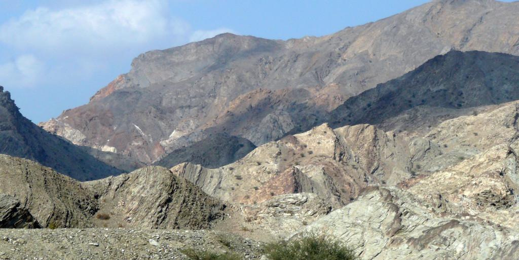 Omán - pohoří Hajar