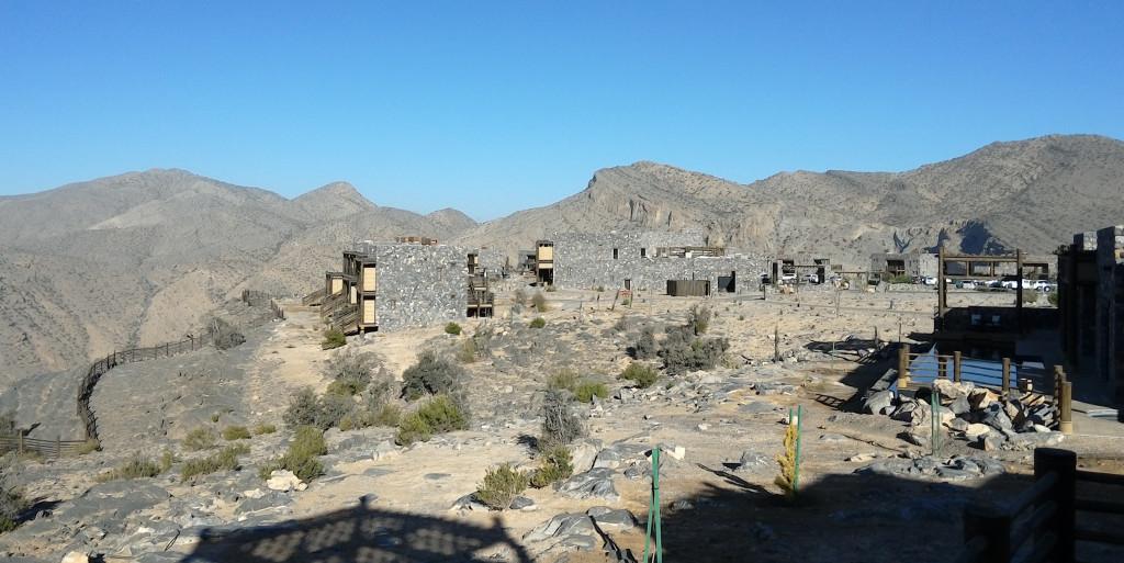Omán - pohoří Al Hajar - hotel Alila Jabal Akhdar