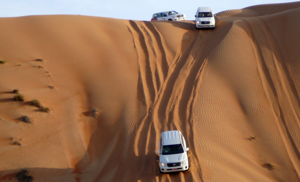 Omán - Dune bashing