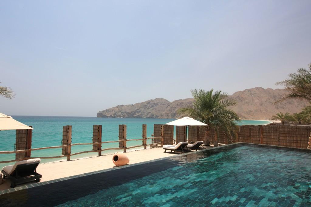 Omán - Six Senses Hideaway Zighy Bay - bazén