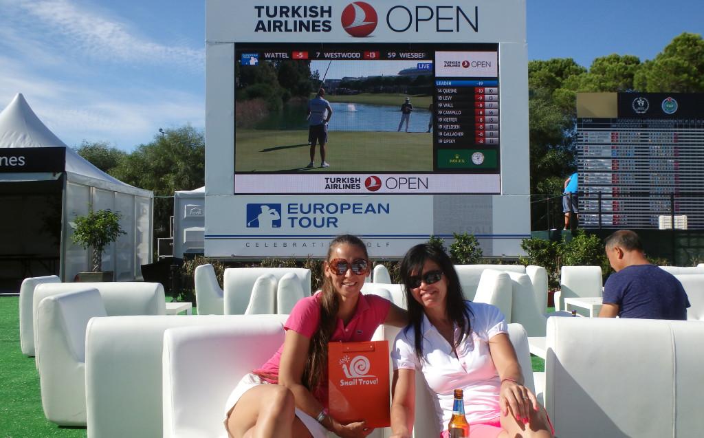 Turkish Open - restaurace