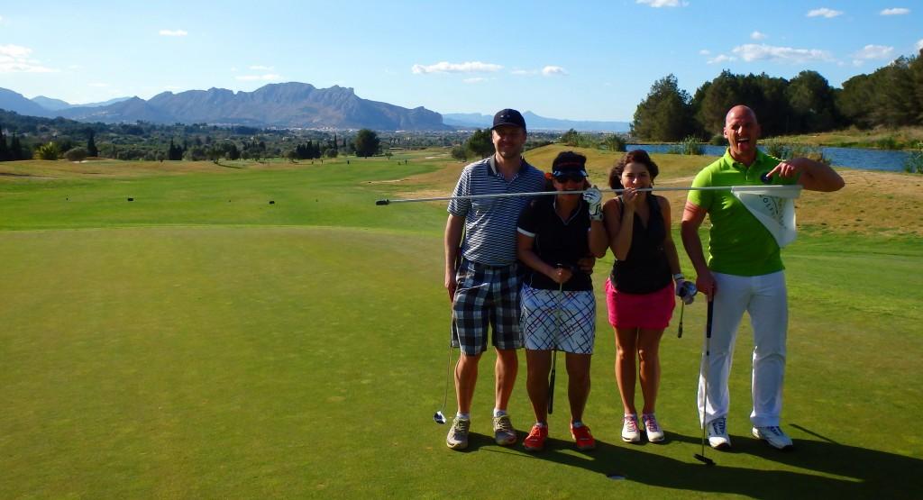 Golf-Španělsko-La-Sella-Verde-golfový-turnaj-Snail-Travel-Cup
