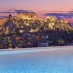 Eurovíkendy-Athény-hotel-King-Georg-Palace-bazén