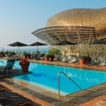 Eurovíkendy-Barcelona-hotel Arts-bazén