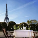Eurovíkendy-Paříž -hotel-Raphael-terasa