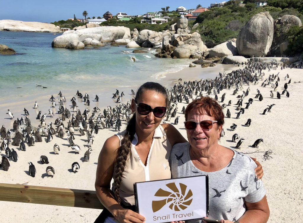 JAR-pláž-Boulders-Beach-kolonie-tučňáků